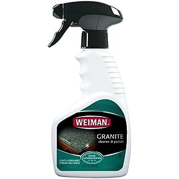 Amazon Com Weiman Granite Cleaner And Polish 12 Fluid
