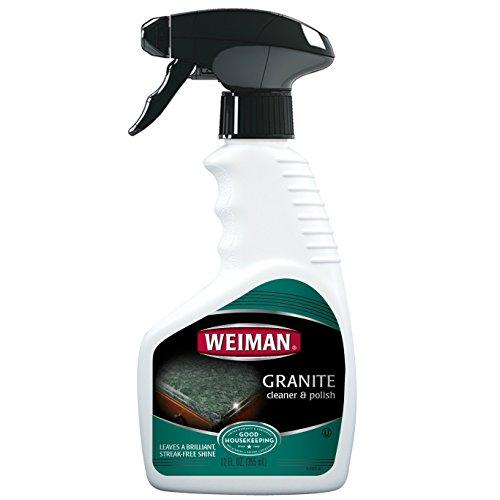 Weiman Granite Cleaner Polish Enhances