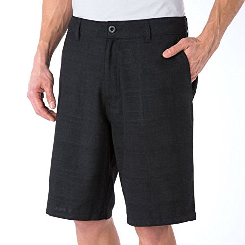 O'Neill Men's Chino Walkshort (Marcos), Black, 30 Black Chino Walkshort