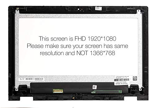Amazon.com: AUO Dell Inspiron 13 7352 7353 7359 FHD Touch LCD Screen Digitizer Bezel Assembly: Computers & Accessories
