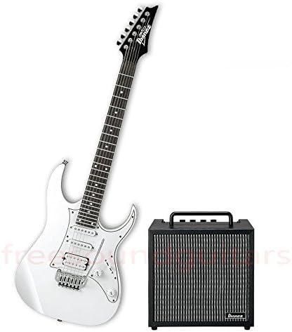 Ibanez grg140 WH guitarra eléctrica + Amplificador para guitarra ...
