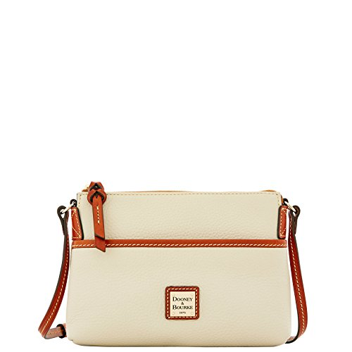 Dooney & Bourke Pebble Grain Ginger Pouchette Shoulder Bag