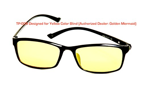 TP-009 Yellow Color Blind Glasses (Tritanomaly / (009 Glasses)