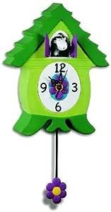 Amazon Com Coo Clock Cow Home Amp Kitchen