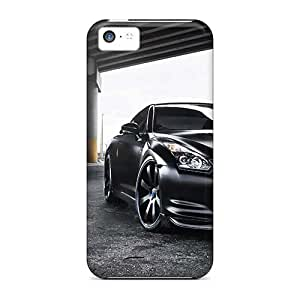 Protector Hard Phone Cases For Iphone 5c (iAB12960eiKq) Customized Realistic Linkin Park Pictures