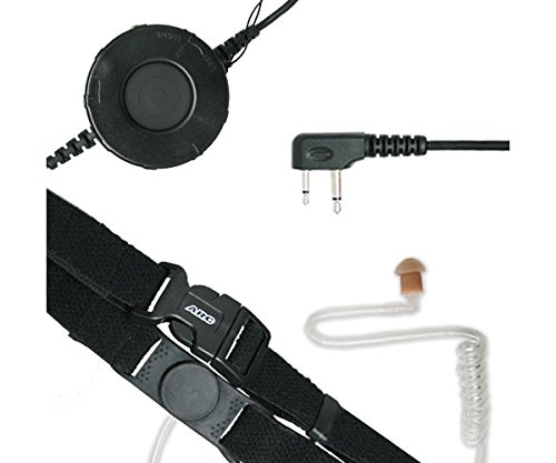 ARC T25003 Neck Strap Tactical Throat Mic for Maxon SP GXT LTX (See (Ltx Straps)