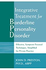 Integrative Treatment for Borderline Personality Disorder Paperback