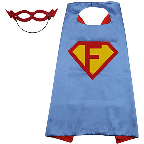 Super Unique Halloween Costume Ideas (SZD Superman Cape for Boys Kid,Superman Outfit Girl,Toddler Superman Costume Gift)