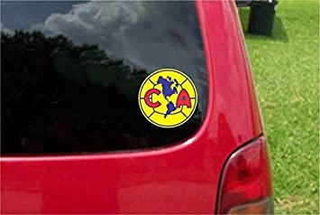 Set 2 PCS America Aguilas Futbol Mexico Decals Stickers Full Color//Weather Proof 3 Tall