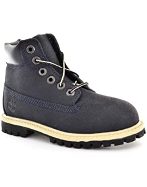 Babys Boots Size 4 M 98874 6In Prem Navy Scuffproof Leather