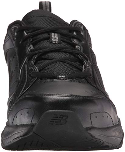 New Balance Men's MX624v2 Casual Comfort Training Shoe, Black, 19 4E US
