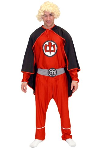 Greatest American Hero Red Adult Costume Set (Adult Medium)