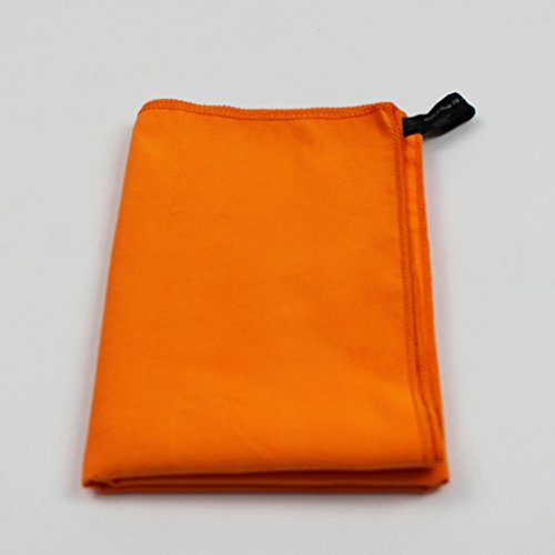 S-WYJ Microfiber Yoga Towel, Orange, 12