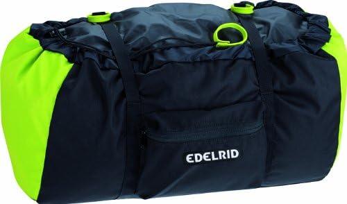 EDELRID - Mochila para Cuerda de Escalada Negro Verde neón ...