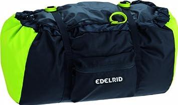 EDELRID - Mochila para Cuerda de Escalada Negro Verde ...
