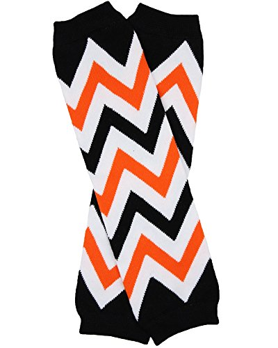 Halloween baby & toddler Leg Warmers for Girls & Boys in various styles (Newborn (up to 12 pounds), Halloween (Sophisticated Halloween)