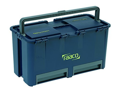 Raaco国際A / S Raaco PP compact27 117180ツールボックス30 kg 475 x 240 x 250 mm by Kayser GmbH B01HR2VJJY