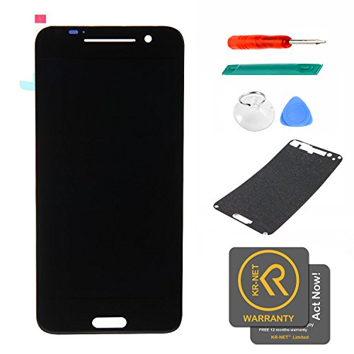 KR-NET Black Display LCD Touch Screen Digitizer Assembly+Pre-Cut LCD sticker for HTC One A9 Hima Aero by KR-NET (Image #9)