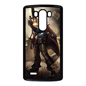 LG G3 Phone Case Covers Black League of Legends Graves GHV Cheap Cell Phone Case