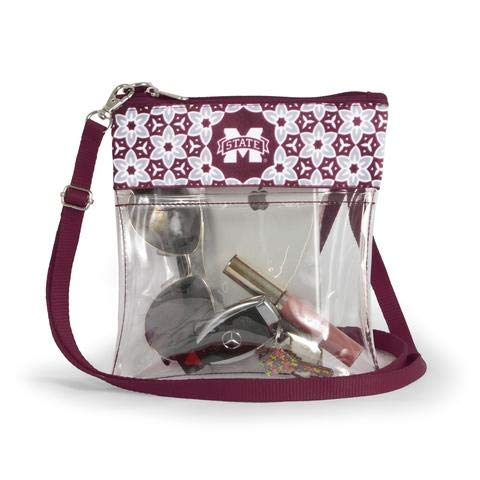 Canyon Outback Clear Crossbody Game Day Bag (Stadium Approved) ... (Mississippi State) ()