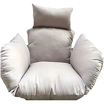 Amazon.com: SQINAA Hanging Egg Hammock Chair Cushions ...