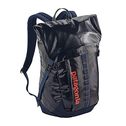 Patagonia Black Hole 32l Laptop Backpack One Size Navy Blue W/paintbrush Red