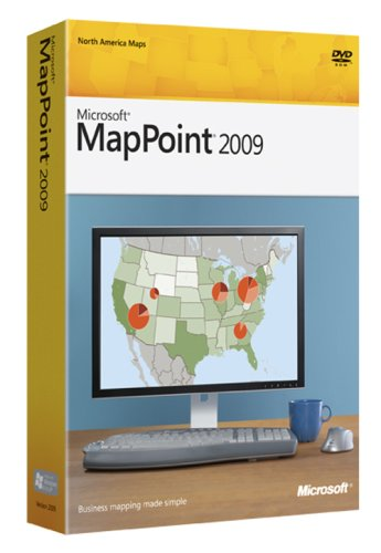 Microsoft MapPoint 2009 OLD VERSION