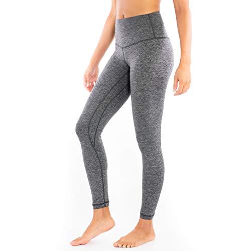 Yoga Leggings for Women High Waist Tummy Control Ultra Soft Leggings - 4 Way Stretch - 7/8 Length