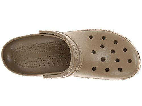 Crocs Unisex Classic Clog, Khaki, 8 US Men / 10 US Women by Crocs (Image #2)