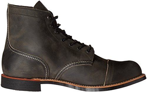 Red Uomo Charcoal Stringate 8113 Wing TBUaF