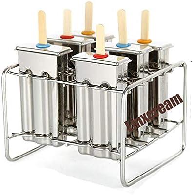 Set De 6 Moldes Para Helados Congelador Del Fabricante Del Molde ...