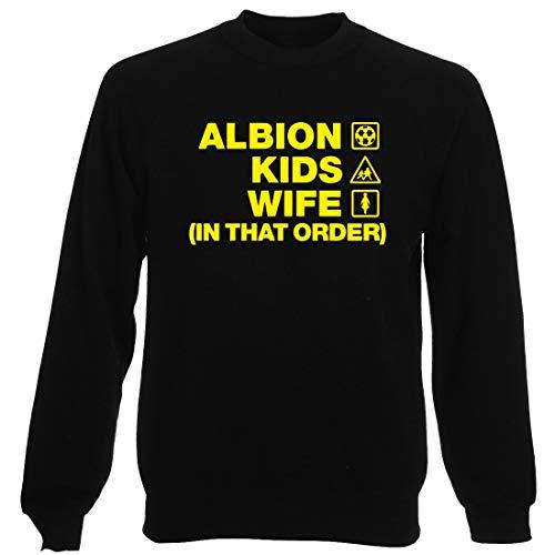 Girocollo Albion Nera Uomo Burton Wife Felpa Order Wc1318 Kids 1qRdw1zO