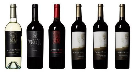 Ghost Pines and Apothic Bold Tasting Flight Wine Mixed Pack, 6 x 750 mL