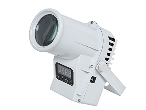 Monoprice Stage Right 4-Color LED Mini Pin Spot Light