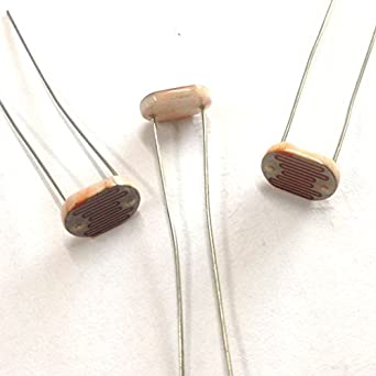Resistencia fotoconductora de la luz Cell Dependiente 80-150 K LDR11 mm cerámica Pacakge (30): Amazon.es: Amazon.es