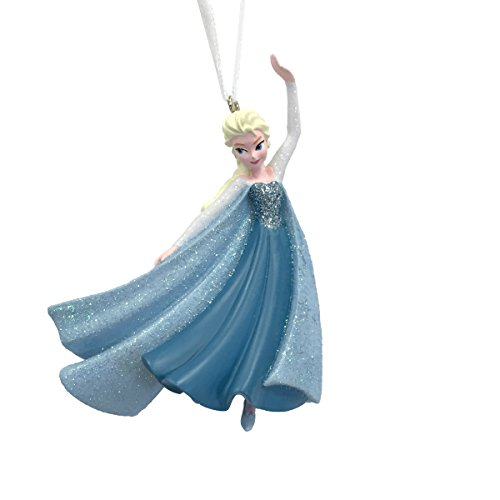 Elsa Skating Christmas Ornament