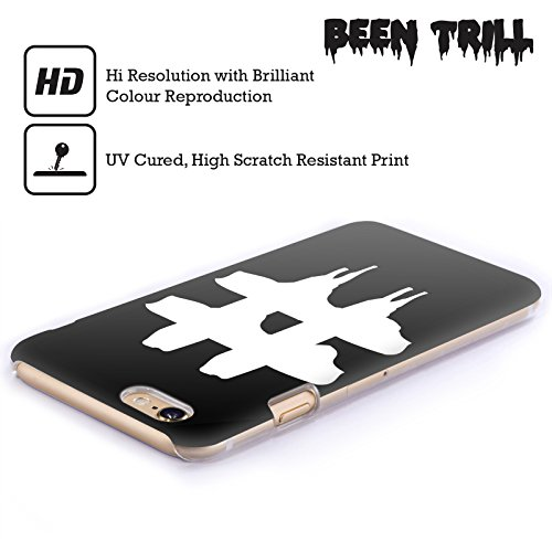 Official Been Trill Hashtag 2 Black And White Hard Back Case for Apple iPhone 6 Plus / 6s Plus