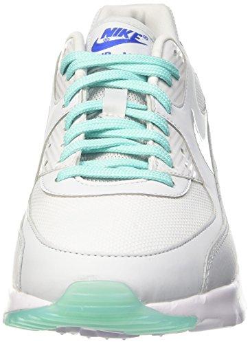 Nike Womens Air Max 90 Scarpa Da Corsa Ultra Essenziale Puro Platino Iper Turchese 006