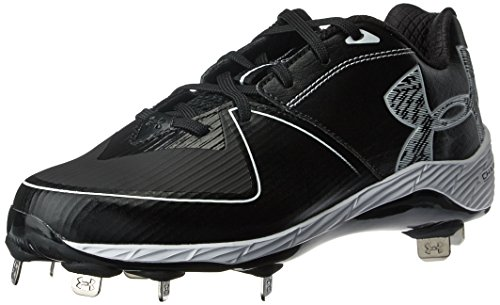 Under Armour Women's Glyde 2.0 ST Softball Shoe, (001)/Black, 7.5