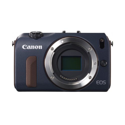- Canon EOS M Compact System Camera (Bay Blue) Body Only - Limited Edition - International Version (No Warranty)
