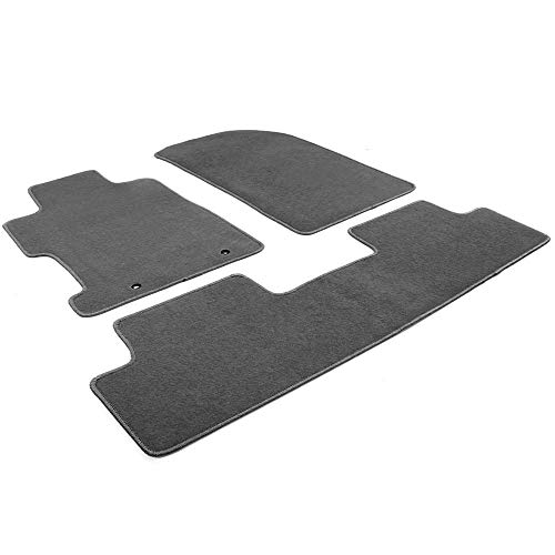 Honda Accessories 08P15-SNA-120B Gray Floor Mat for Select Civic Models