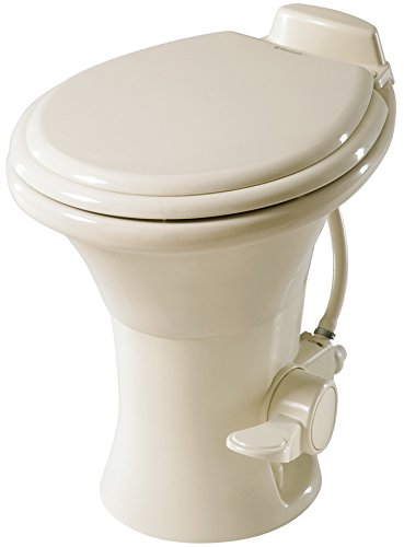 (Dometic 310 Series Standard Height Toilet, Bone)