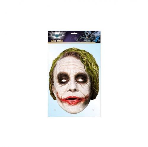 Official Licensed The Dark Knight - Cardboard Face Mask (The Joker)