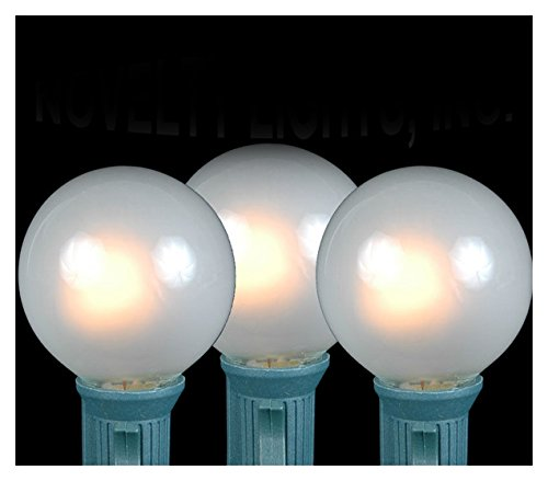 25 Pack G40 Outdoor Lighting Patio Christmas Globe Shape ...