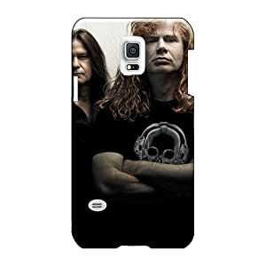 Phonecaseforall Samsung Galaxy S5 Mini Scratch Resistant Hard Phone Cover Unique Design High-definition Megadeth Band Series [EVb9021DXIX]