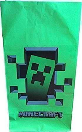 Minecraft - Bolsas para fiestas rellenables: Amazon.es ...