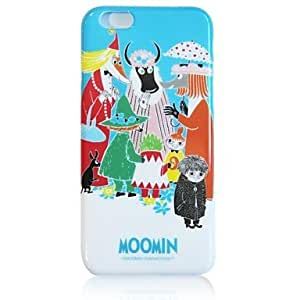 WQQ Moomin Tpu Soft Case for iPhone 6 , White