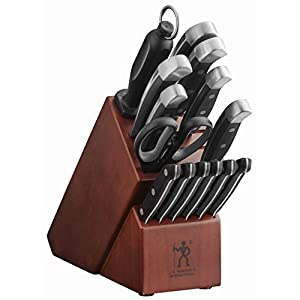 J.A. Henckels International Statement 15 Piece Knife Block Set 410aL1S3hmL