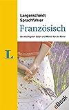 Langenscheidt Sprachführer Französisch: Die wichtigsten Sätze und Wörter für die Reise