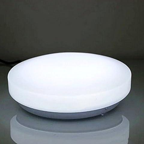ZHMA LED ceiling kitchen Lighting,8W Warm White 3000K Flush Mount ceiling Fixture Indoor Light Bathroom /Kitchen /terrace /bedroom